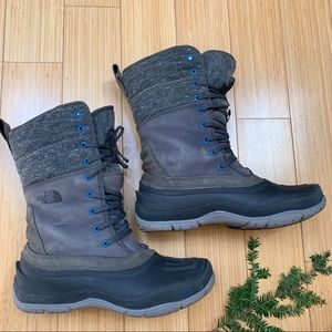 The NORTH FACE winter snow boots, 8.